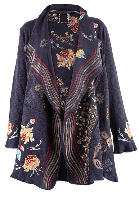 Paparazzi by Biz Midnight Waves Duster - Front