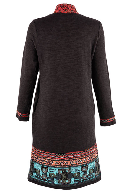 Paparazzi by Biz Cheyenne Embroidered Duster - Back