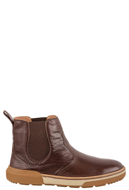 Lucchese After-Ride Chelsea Whiskey Baby Buffalo - Side