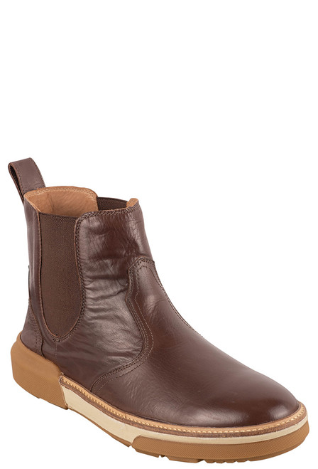 Lucchese After-Ride Chelsea Whiskey Baby Buffalo