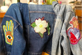 How to Attach Handmade Beaded Patch to Jacket or Bag