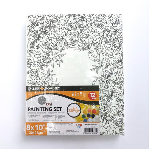 Daler-Rowney Simply Craft Art Therapy Painting Set 12 Pieces
