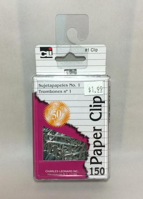 CLI Brand No. 1 PAPER CLIPS 150 ct.