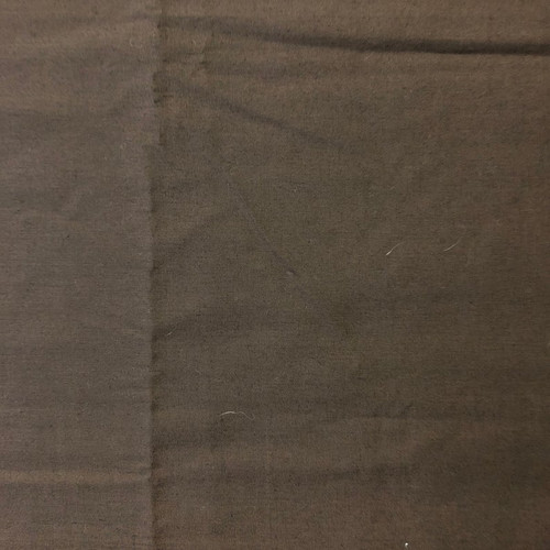 Quilting Fabric Pre-Cut Yardage 1 3/8 Yards Brown Solid Sheen