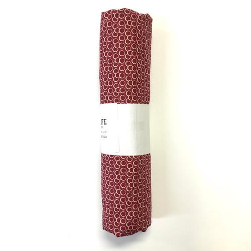 Quilting Fabric Pre-Cut Yardage 4 3/8 Yard Red Circles