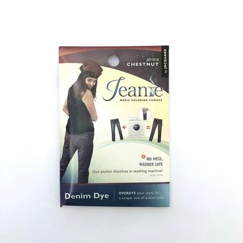 Jacquard Jeanie Denim FABRIC DYE Powder Packet JJD1010 Chestnut