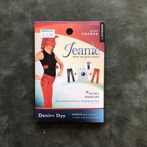 Jacquard Jeanie Denim FABRIC DYE Powder Packet JJD1002 Orange