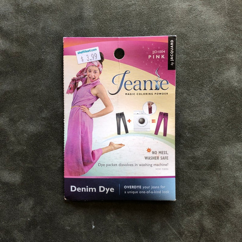 Jacquard Jeanie Denim FABRIC DYE Powder Packet JJD1004 Pink
