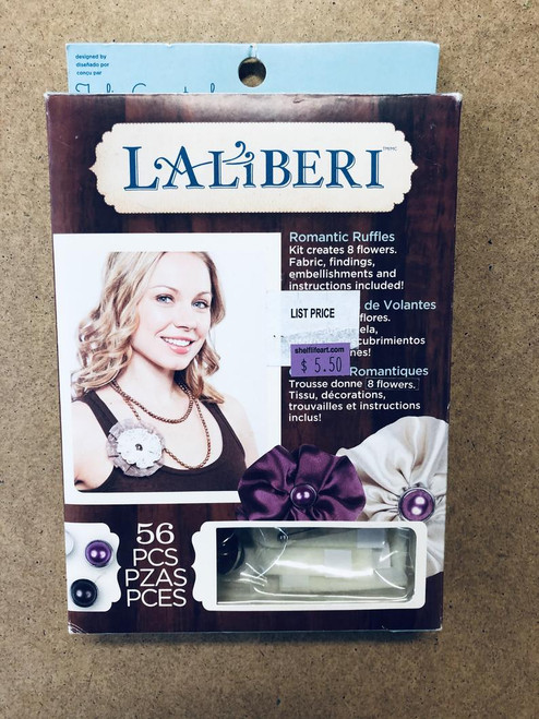 Laliberi Julie Comstock Romantic Ruffles Light Flower Clothing Accessory Kit