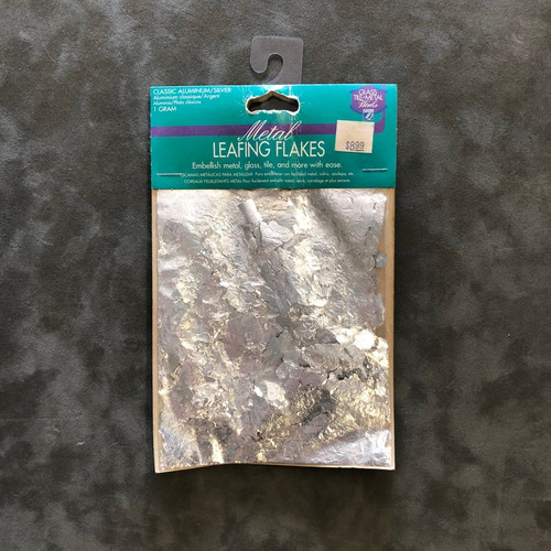 Lefranc & Bourgeois Metal Leafing Flakes Classic Aluminum/Silver 1 Gram