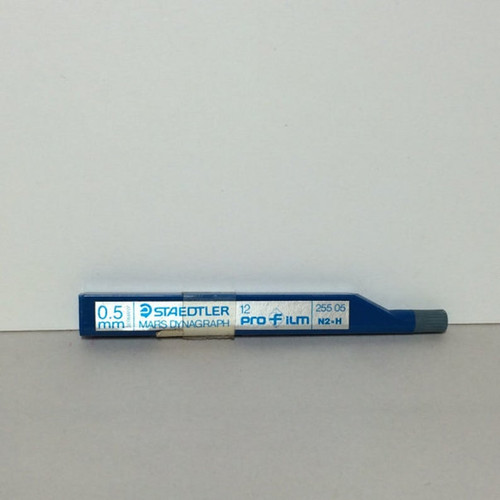Staedtler Mars Dynagraph ProFilm LEAD for Film 0.5mm N2 H 12-Pieces