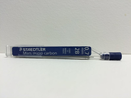Staedtler Mars Micro Carbon Pencil LEAD 0.7mm 2B 12-Pieces