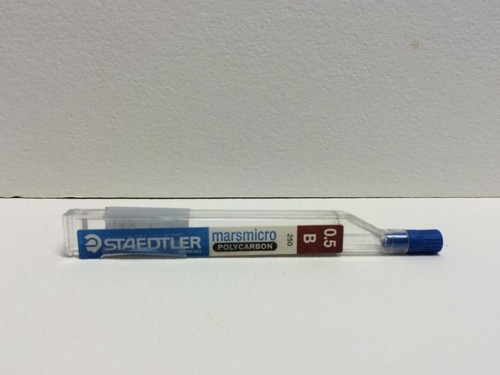 Staedtler Marsmicro Polycarbon Pencil LEAD 0.5mm B 12-Pieces