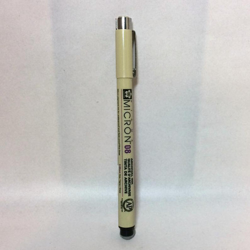 Sakura Pigma Micron 08 Archival Ink PEN Black