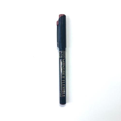 ZIG Cartoonist Mangaka Flexible Tip Fine Point Pen Sepia