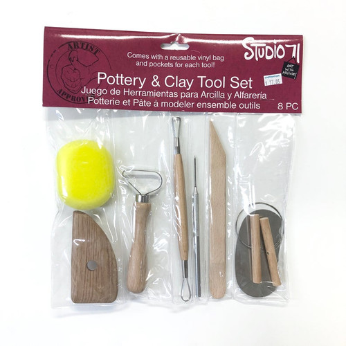 Boxwood Wooden CLAY TOOL