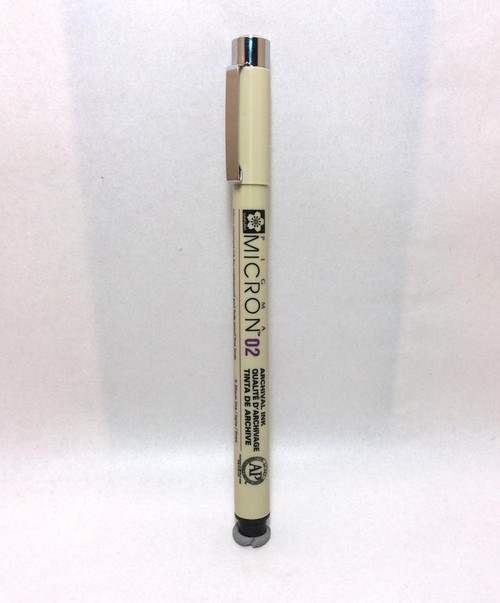 Sakura Pigma Micron 02 Archival Ink PEN Black