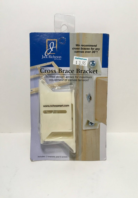 Jack Richeson & Co Cross Brace Bracket (2 brackets 6 screws)