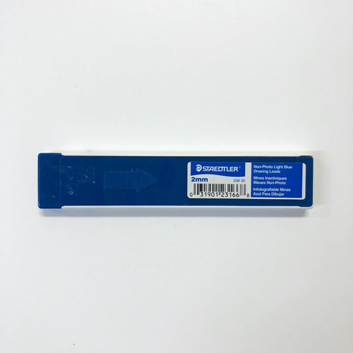 Staedtler Non-Photo Blue 2mm LEAD 12 Pieces