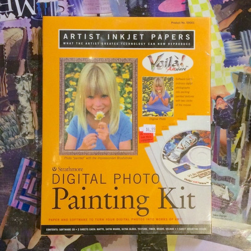 Strathmore Digital Photo Painting Kit Voila Artware