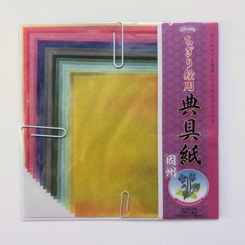 Grimmhobby Tengushi Rice Origami Collage Paper 16 Sheets