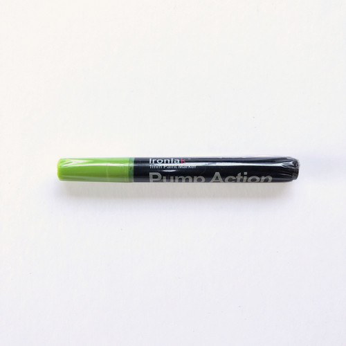 Ironlak Pump Action Acrylic Water-Based Paint Pen Bullet Shaped 1mm Sublime
