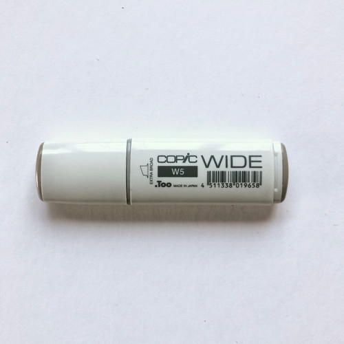 Copic Wide Marker W5 Alcohol Ink Marker Extra Broad Warm Gray 5 21mm