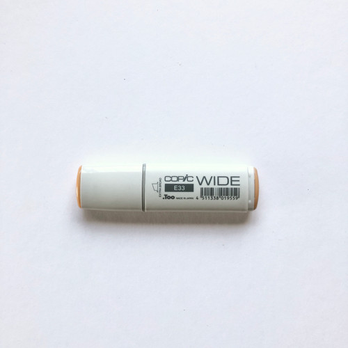 Copic Wide Marker E33 Alcohol Ink Marker Extra Broad Sand 21mm