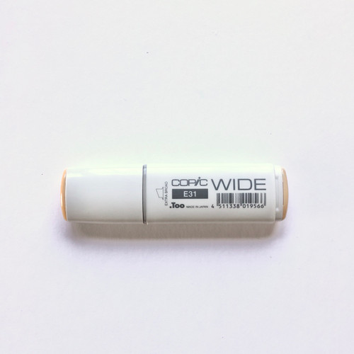 Copic Wide Marker E31 Alcohol Ink Marker Extra Broad Brick Beige 21mm