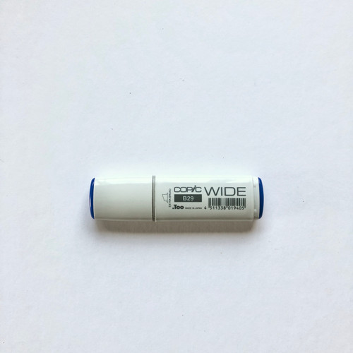 Copic Wide Marker B29 Alcohol Ink Marker Extra Broad Ultramarine 21mm