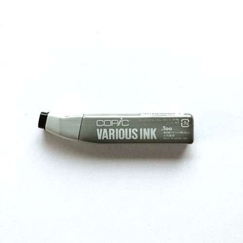 Copic Various Ink Alcohol Marker Refill 100 Black 25ml