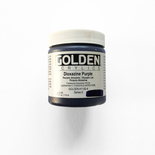Golden Heavy Body Acrylics Dioxazine Purple 4 fl oz