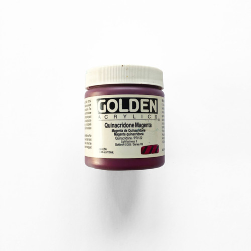 Golden Heavy Body Acrylics Quinacridone Magenta 4 fl oz
