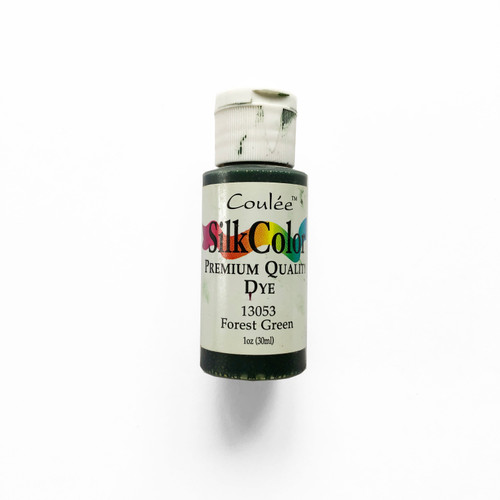 Coulée SilkColor Premium Quality Dye Forest Green 1 oz.
