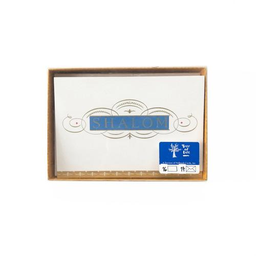 Hallmark Tree of Life Shalom Rosh Hashanah Greeting Cards with Envelopes 16 Count