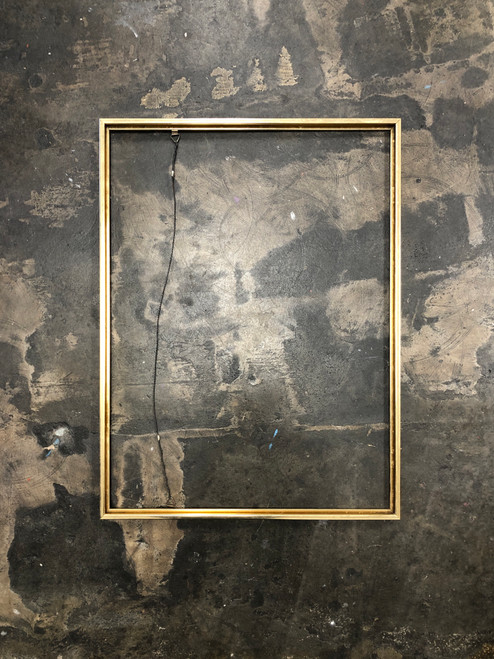 "Metal Frame Square Edge Gold 18 x 24"""
