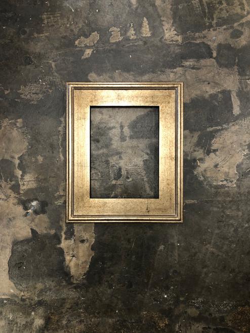 """Plein Air Frame Antique Silver Leaf on Wood 9 x 12"""""""