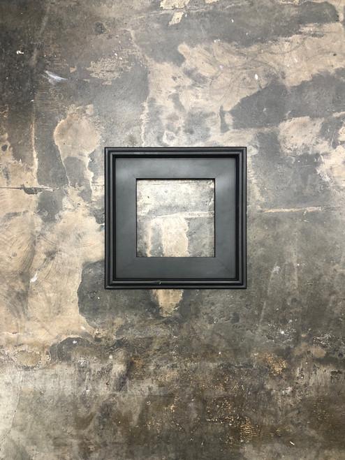 "Plein Air Frame Matte Black on Wood 8 x 8"" Flawed"