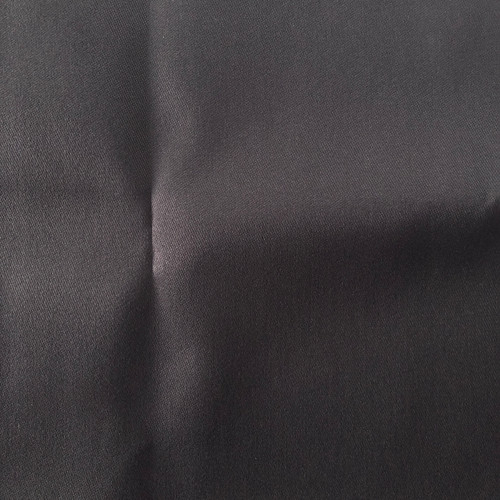 "Solid Black Twill Woven Polyester Fabric 47"" x 30"""
