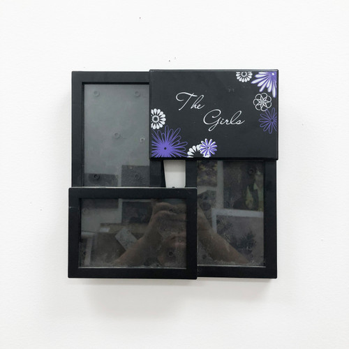 Readymade The Girls Three-Photo Frame Black 4 x 6""