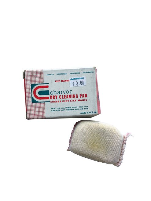 Vintage NOS Charvoz Small Dry Cleaning Pad