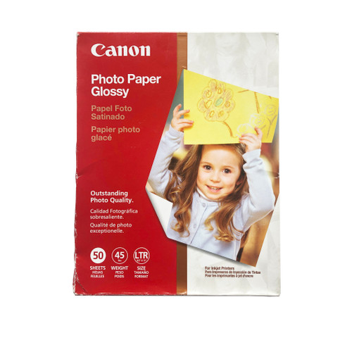"""Canon Photo Paper Glossy 8.5 x 11"""" 38 Sheets"""
