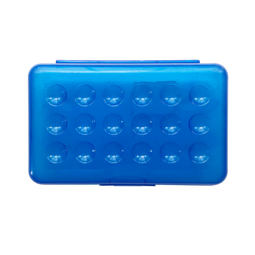 Blue Pencil Case Small School Box