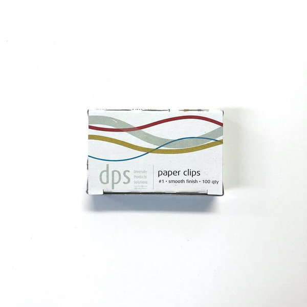 DPS Brand No. 1 Smooth Finish PAPER CLIPS 100 ct.