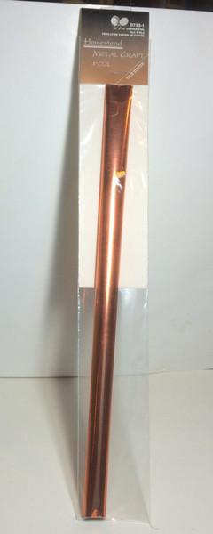 Tolin' Station Homestead Copper Metal Craft FOIL