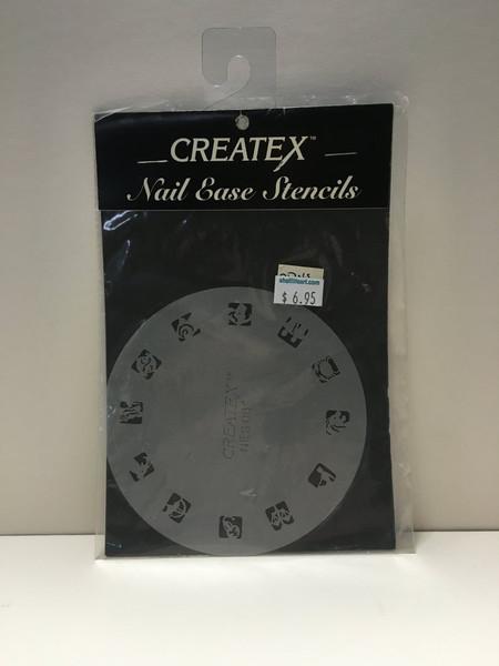 CREATEX Nail Ease Stencils NES08 ZODIAC