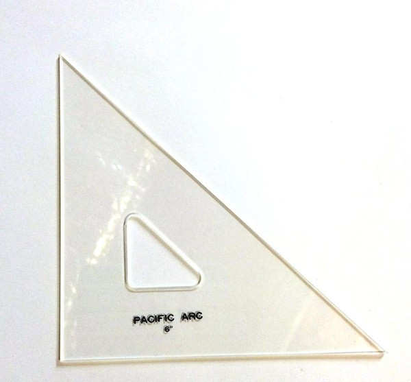 "Pacific Arc 6"" 45 Degree TRIANGLE"