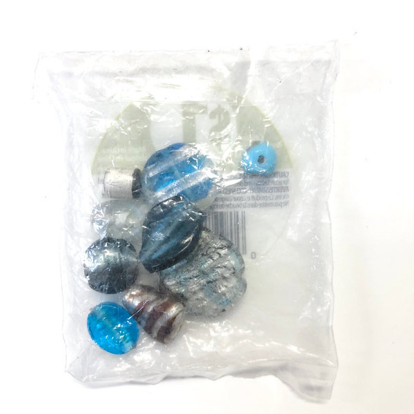 Cousin CCA Blue Assorted Glass Beads