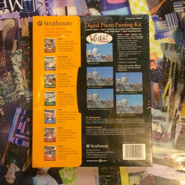 Strathmore Digital Photo Painting Kit Voila Artware