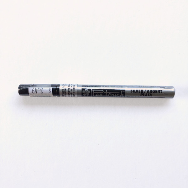 Sakura Pen-Touch Oil-Based Paint Pen Extra Fine 0.7mm Metallic Silver